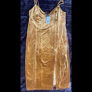 Forever 21 velour dress